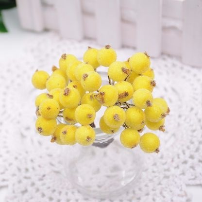 сахарные ягоды желтые