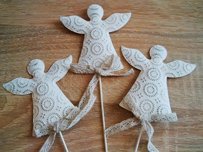 декор на палочке, фигурка ангела