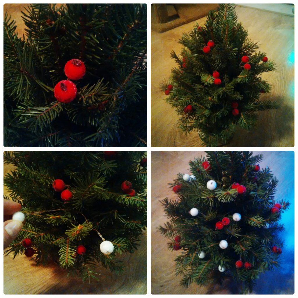 как украсить елку фото