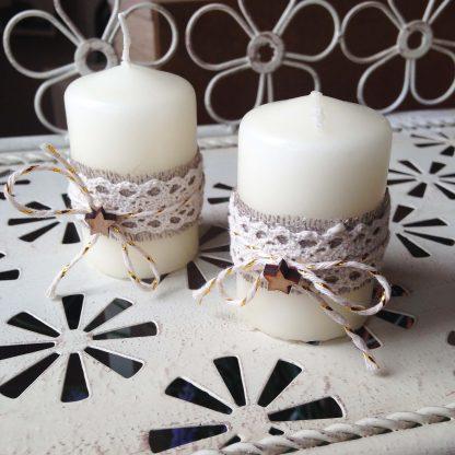 купить свечи для декора