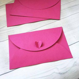 конверт подарочный