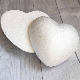 сердечко пенопластовое